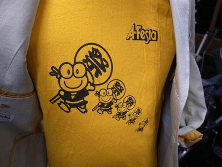 あだち区民まつりA-Festaのシャツ