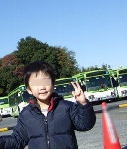 バスがいっぱい♪