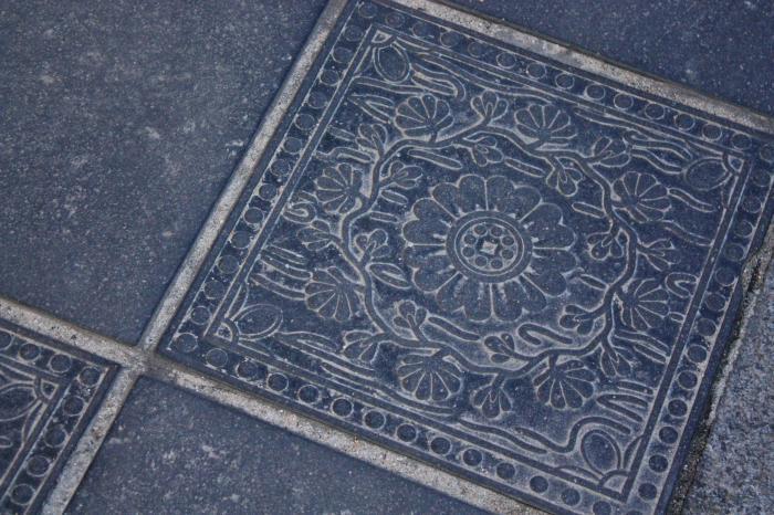 参道の石畳
