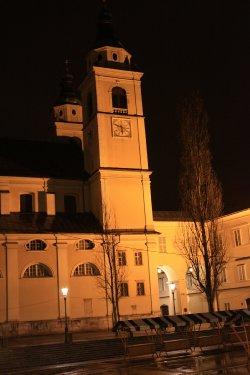 リュブリアナ 時計台