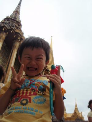 タイの寺で1