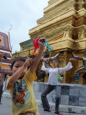 タイの寺で2