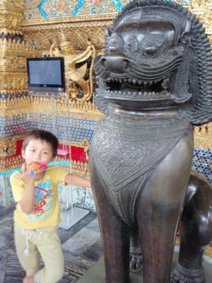 タイの寺で3