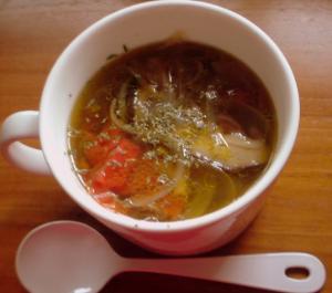 100421朝スープ♪