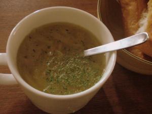 新玉葱のシンプルゥなスープ♪