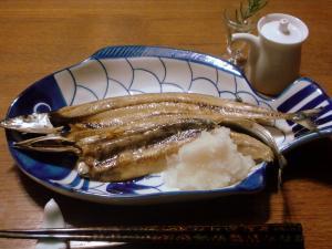 秋刀魚の干物の味