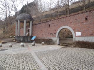 長湯の飲泉場