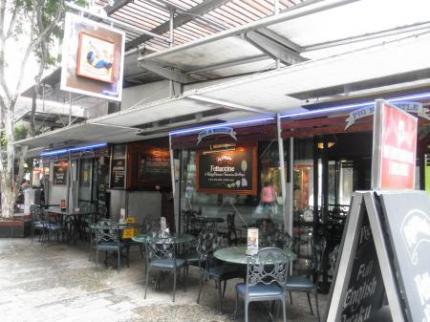クイーンストリートのレストラン