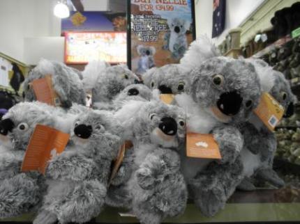 コアラのぬいぐるみ