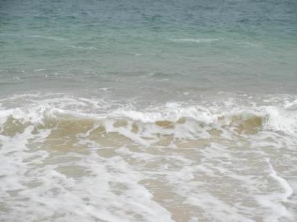 綺麗な海だよ