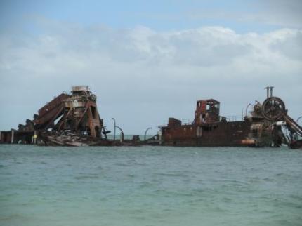 船の残骸5