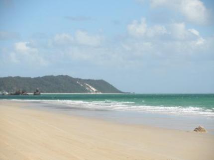 綺麗な景色と海