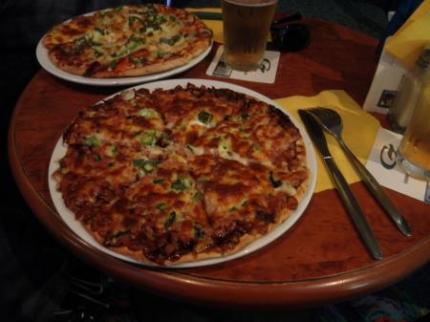 食べたピザ