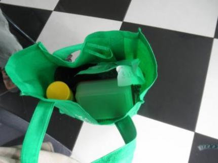 緑のカバン