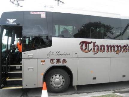 こんなバスが迎えにきます