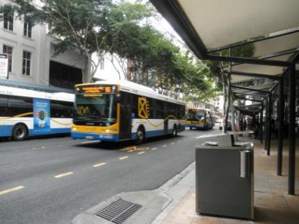 バスを待ちます
