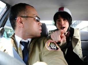 タクシー運転手:君塚とフリーライター:御法川