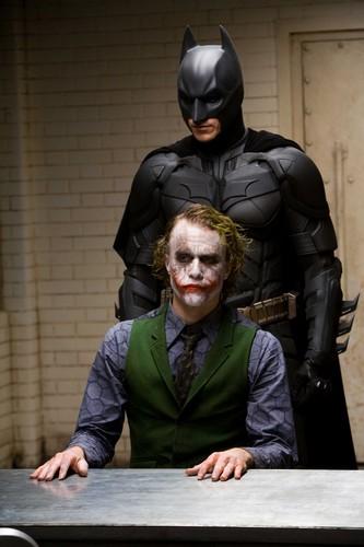 ジョーカーとバットマン