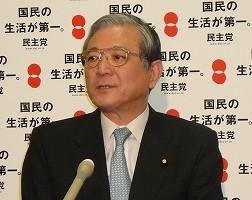 平田健二参院幹事長
