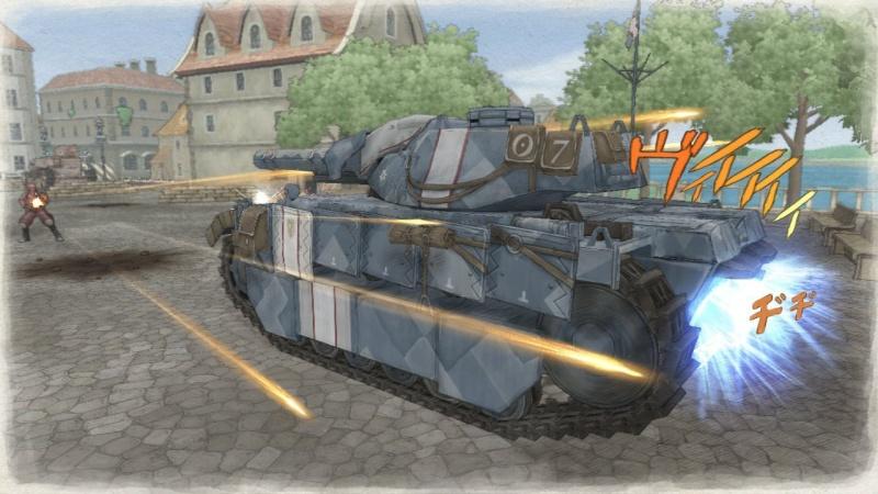 戦力の中核となる戦車エーデルワイス