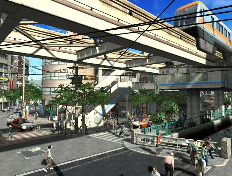 穏やかな雰囲気の琉球街
