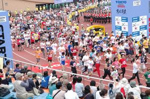 映画に登場する東京ビッグシティマラソン