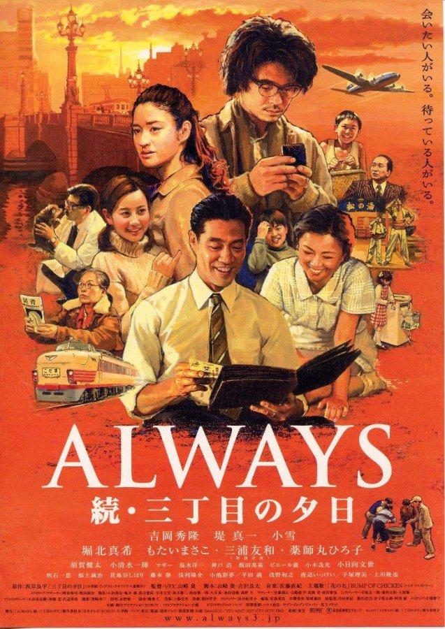 映画【ALWAYS 続・三丁目の夕日】