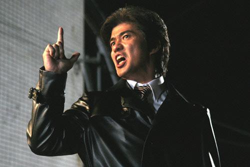 村田大樹(佐藤浩市)の作ったキャラクター、デラ富樫