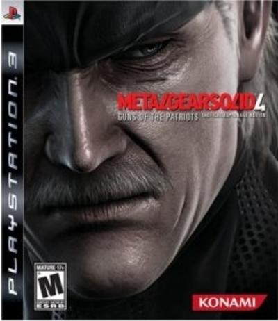 PS3【メタルギアソリッド4 ガンズ・オブ・ザ・パトリオット】