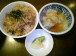 うさぎや チャーシュー丼+皿わんたん 08.11.16