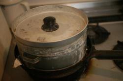 焼き芋器スモーカー・セット完了