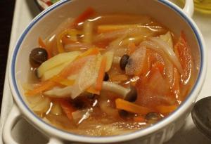 a具沢山の野菜スープ