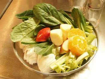 a6野菜ジュース材料