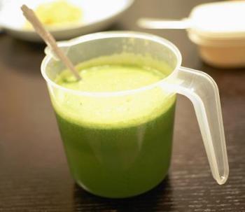 a6小松菜のジュース
