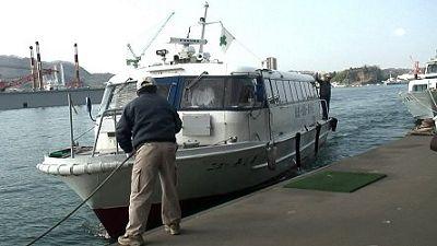 瀬戸田行きの船