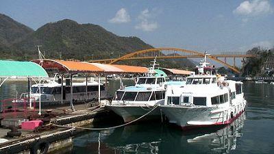 瀬戸田港の船着場