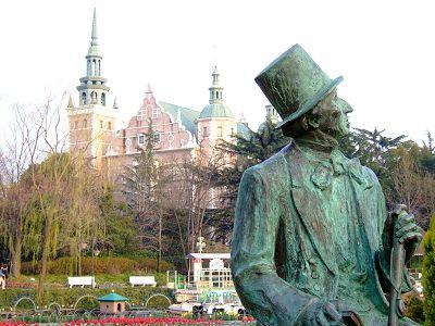 倉敷チボリ公園 アンデルセン像