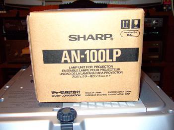 「XV-Z3000」の交換用ランプ「DT-100J」