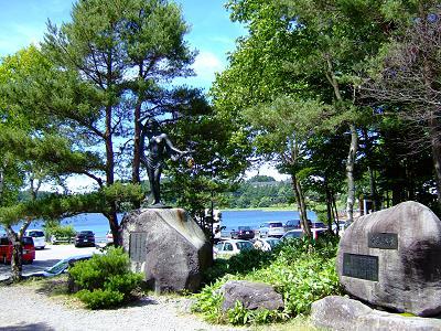白樺高原女神湖