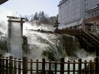 草津温泉「湯畑」