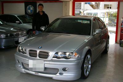 BMW E46 チタンシルバー