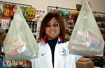 リュウケン君大人買いの図!!