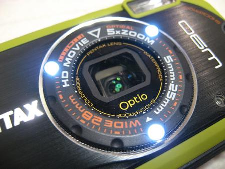 Optio W90 LED