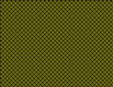 黄チェック絨毯