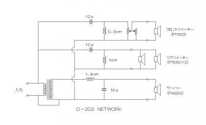 ネットワーク回路  D-203