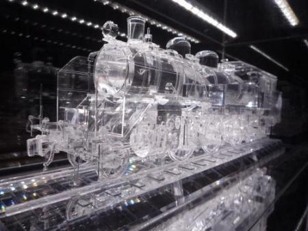 アクリル機関車 akiba-F