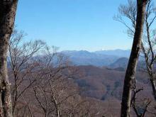 武尊山と日光白根山