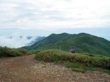 仙ノ倉山方面