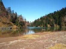 静かな弥陀ヶ池