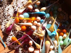 dews for earrings